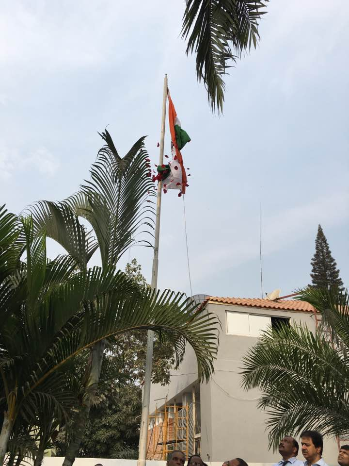 Independence day celebration at Indian embassy