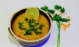 red lentil soup recipe, Indian lentil soup