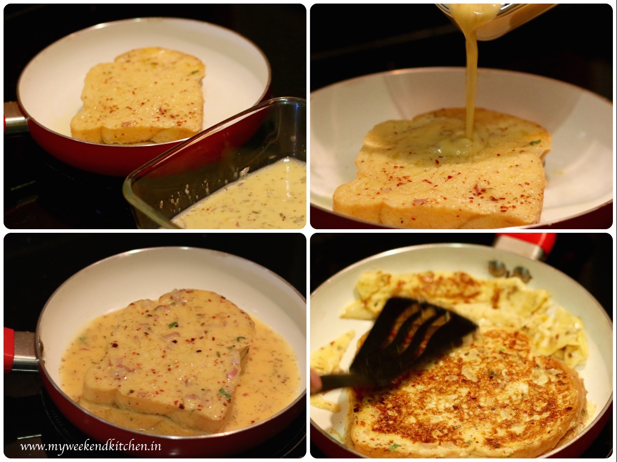 Spicy Stuffed French Toast Recipe Step By 2