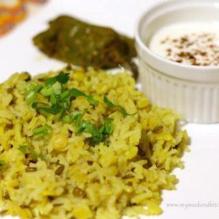 Nutrition packed multigrain khichdi