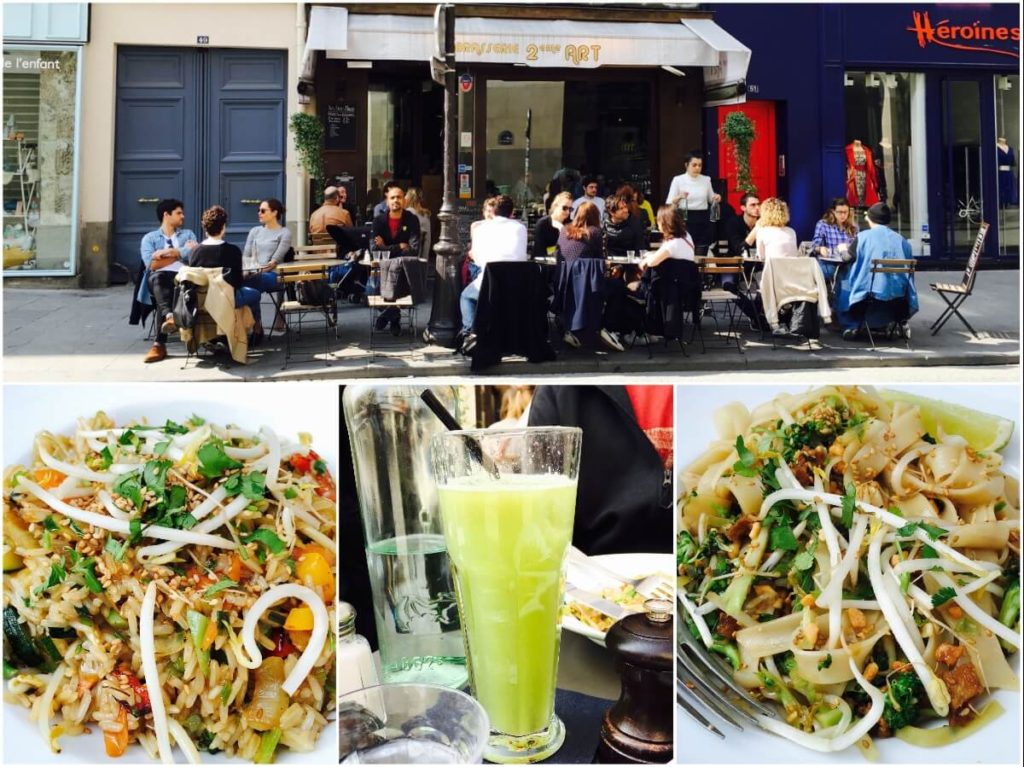 vegan food options in Paris