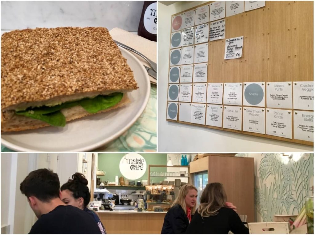 Vegetarian/ Vegan restaurants in Paris