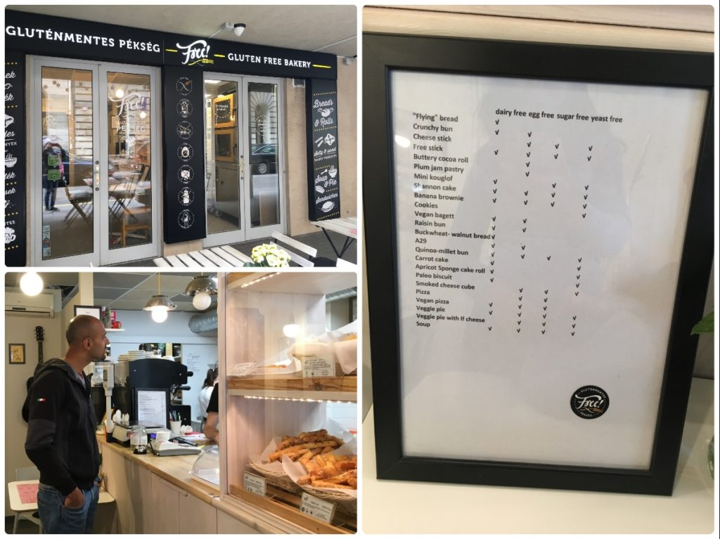 Free gluten free bakery in Budapest, Being vegetarian in Budapest