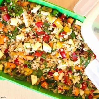 Vegan Quinoa Salad – Hello Summers!