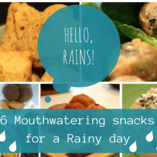 6 mouthwatering snacks for a rainy day!