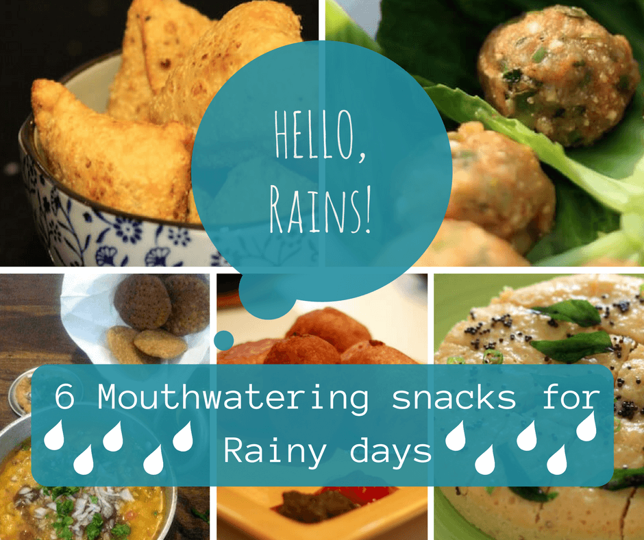 Ideas for snacks for rainy season, monsoon snacks, snacks for rainy days
