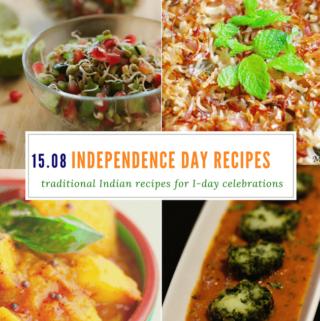 Indian Independence day celebration recipes