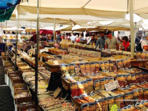 Food Market at Campo de Fiori Rome