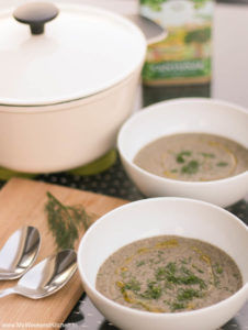 cream of mushroom soup, vegan mushroom soup recipe