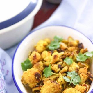 Roasted Cauliflower vegetable fry