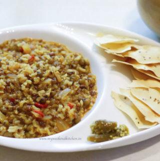 Lentil and Brown Rice Khichdi