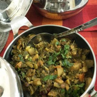 Annakoot ki sabzi, Govardhan pooja in India, Diwali festival recipe