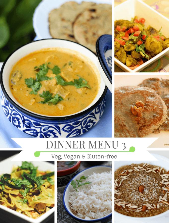 Diwali dinner party menu, dinner ideas, Indian dinner party menu, Rajasthani dinner menu,
