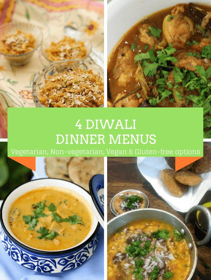 Four Diwali dinner ideas