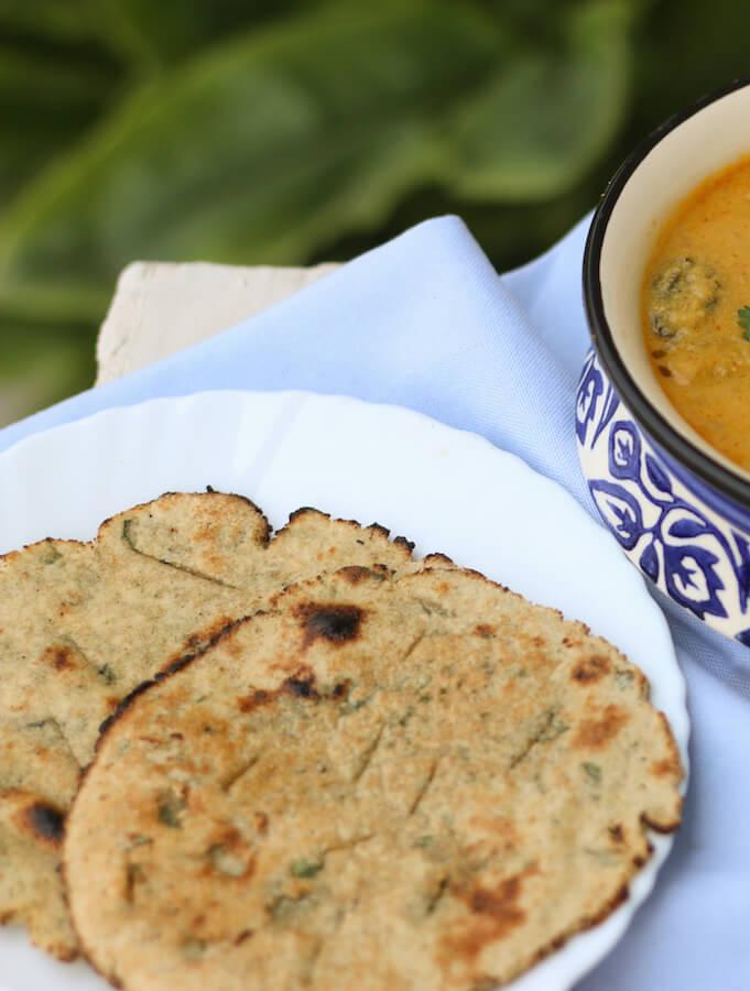 Jowar roti recipe, sorghum flour bread, health benefits of jowl