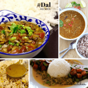 Collection of Dal recipes on My Weekend Kitchen by Ashima, lentil recipes