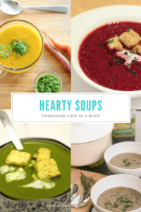 collection of soup recipes on My Weekend Kitchen by Ashima