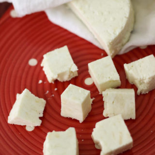homemade paneer, how to make paneer at home