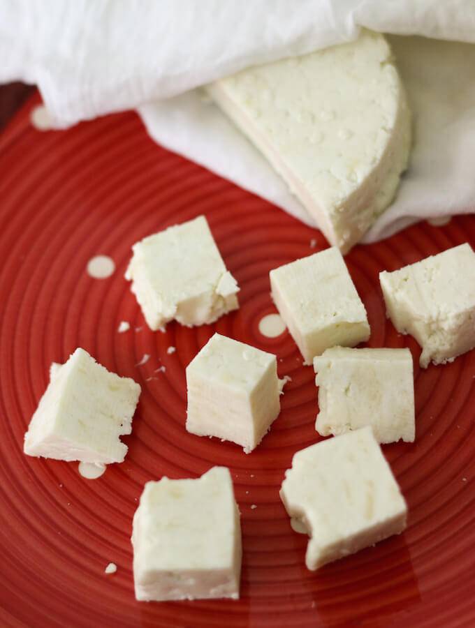 home-made paneer, how to make paneer at home