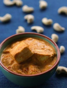 creamy malai paneer recipe from My Weekend Kitchen by Ashima