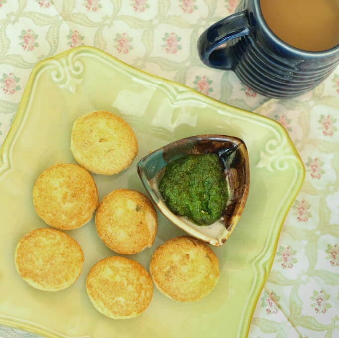 Instant rava appams, meals with no fresh vegetables for lockdown cooking