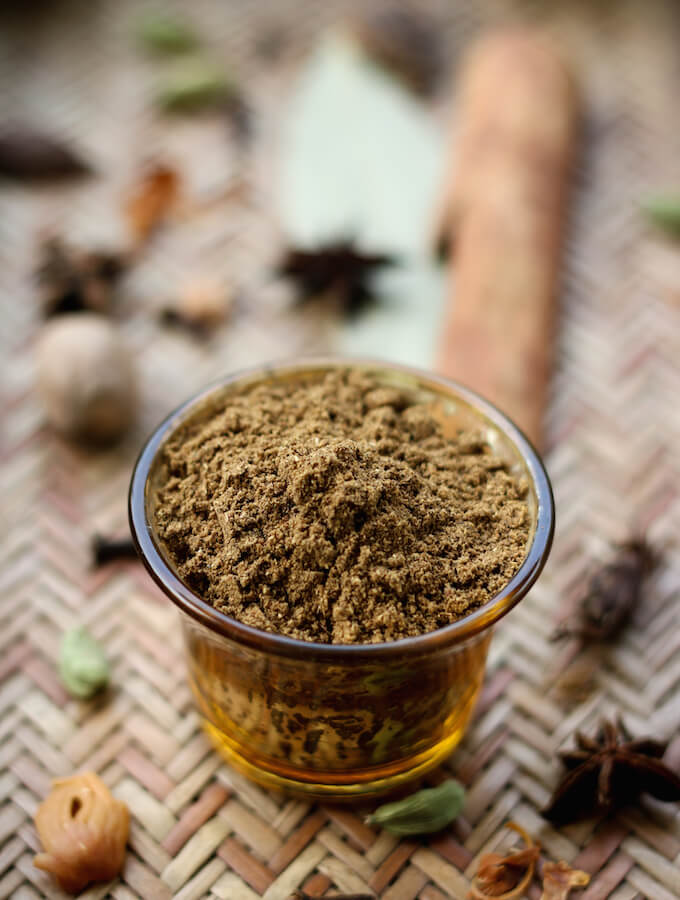 garam masala powder recipe, homemade garam masala