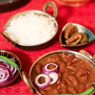 rajma masala recipe, Indian kidney beans curry