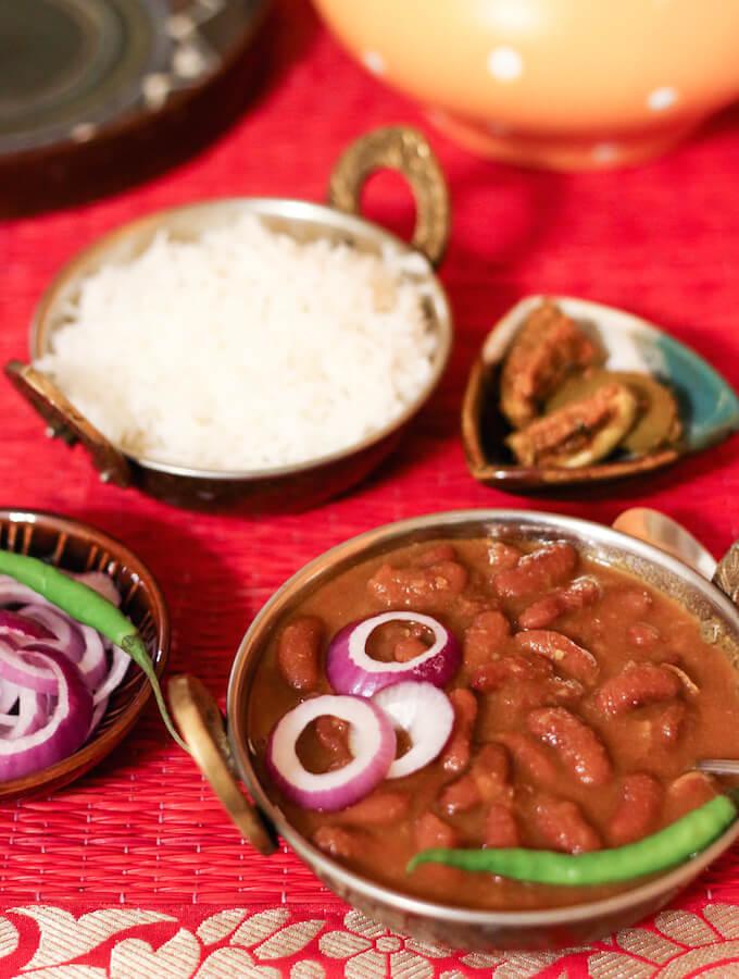 rajma masala recipe, Rajma curry, Rajma chawal