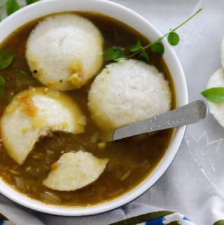 Rice Idli recipe & homemade Idli batter