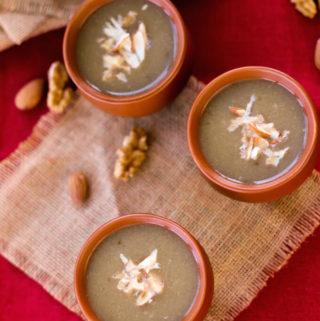 bajra raab, pearl millet drink, millet recipe, kitchen cures,