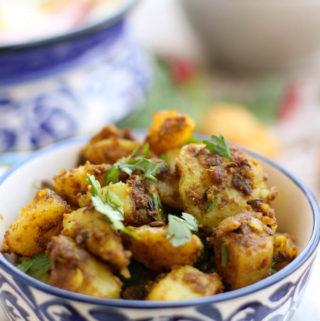 Easy Potato Fry | Dry Aloo Sabzi