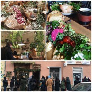 vegetarian food in Berlin, Roamers cafe Berlin