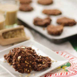 nutella and oatmeal no-bake gluten free cookie recipe