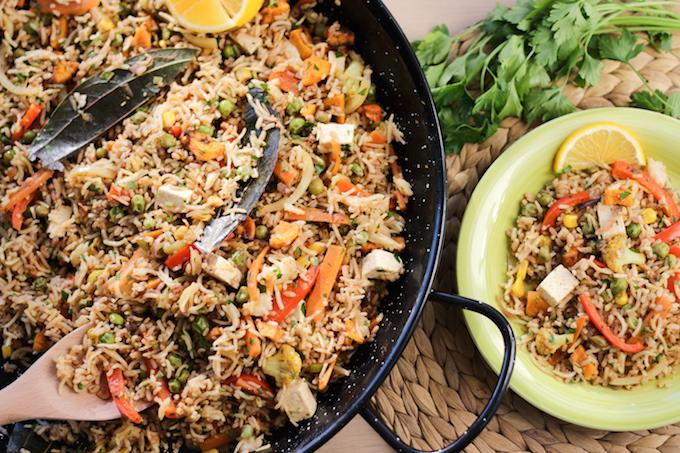 the best vegetarian paella recipe