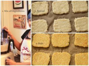 step by step cauliflower bread recipe