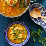 easy vegetarian white bean soup