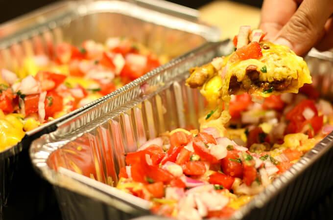 cinco de mayo recipe, easy loaded nachos vegetarian
