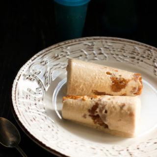 4 ingredients Chikoo ice cream!