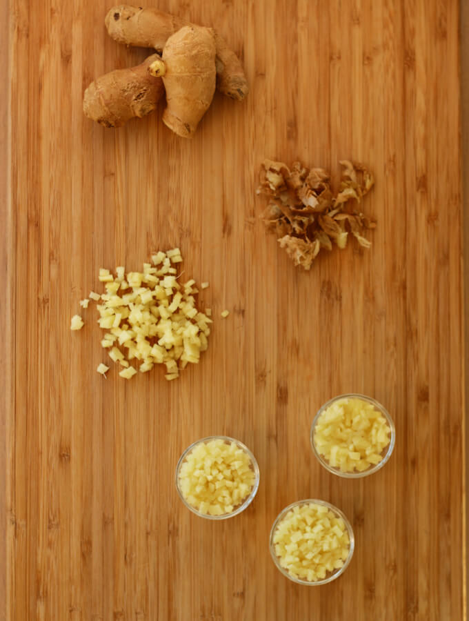 How to freeze ginger for long and easy use, how to store fresh ginger in freezer