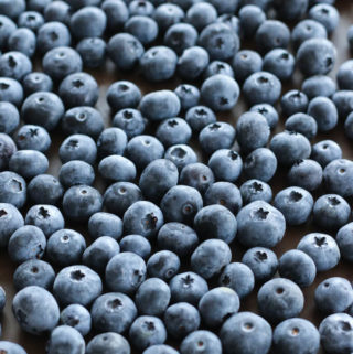 how to freeze blueberries at home