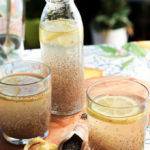 Lemon chia fresca recipe, easy post-workout health drink with chia seeds