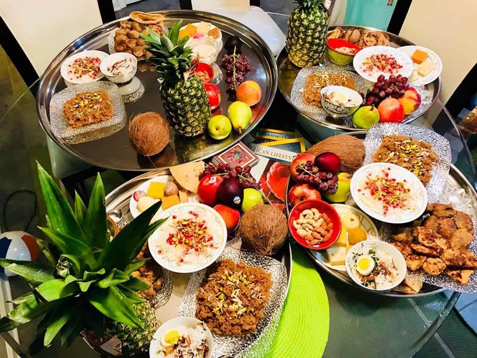 The Bohri Thaal, Bohra cuisine