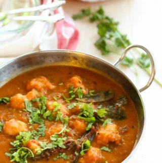 Indian red lentil curry, Assamese boror tenga recipe