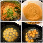 how to make red lentil fritters