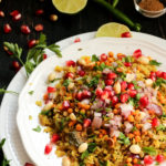 steamed red rice poha recipe, Indian street food,