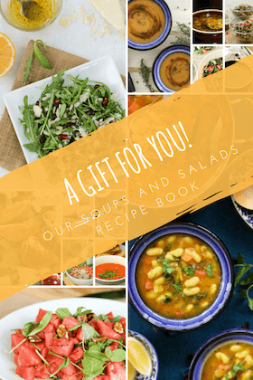 free soups and salad recipe book