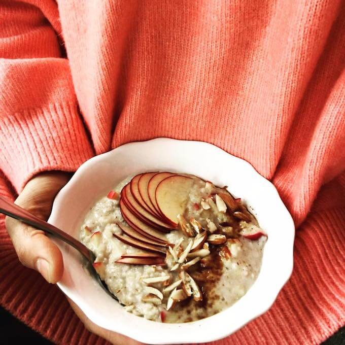 cinnamon apple oatmeal recipe