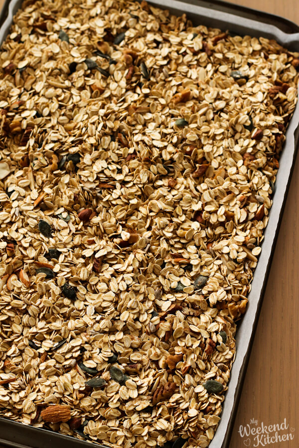 how to make granola from scratch
