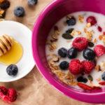 crunchy heathy granola