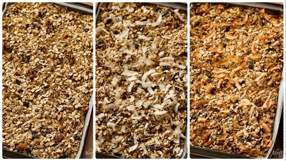 crunchy granola recipe